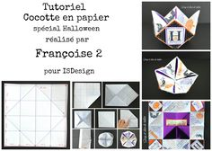 Index, Deco, Html, Playing Cards, Halloween, Paper Fortune Teller, Tutorials, Playing Card Games, Dekoration