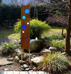 As an urban planner and garden designer, it is important to me to give an individual touch to gardens or public spaces. From the desire of my garden customers for a modern and individual garden sculpture as an eye-catcher for their gardens, I have developed the idea of my wooden sculptures. The combination of solid oak wood and transparent colored acrylic glass with satin surface conjure beautiful light scenes into your garden and create powerful and exciting art objects which give each room…