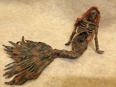 Hey, I found this really awesome Etsy listing at https://www.etsy.com/listing/189243355/ooak-dead-skeleton-mermaid-fantasy-fairy