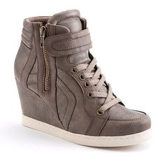 Candie's Wedge Sneakers, want these