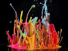 From Miles David to Kraftwerk, photographer Martin Klimas creates explosive sound paintings by playing music at high volume. Photo: Martin Klimas