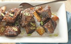 Slow Cooker Asian Short Ribs by wholefoodsmarket #Short_Ribs #Asian #Slow_Cooker