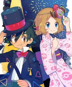 Beautiful ♡ Amourshipping ^_^ ^.^ ♡ I give good credit to whoever made this
