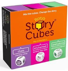 Rory's Story Cubes Mix collection