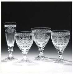 William Yeoward Crystal Pearl Stemware Collection Home - Dining & Entertaining - Drinkware - Bloomingdale's Crystal Glassware, String Of Pearls, Crystal Collection, Downton Abbey, Online Gifts, Home Gifts, Tableware, Tabletop, Dining