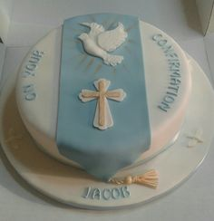 Confirmation cake by Rose Mackay