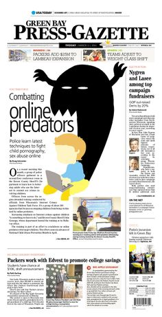 Green Bay Press-Gazette, published in Green Bay, Wisconsin USA