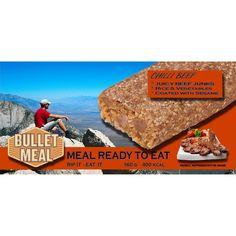 Bullet Meal Chilli Beef 160g 400kcal - Partioaitta