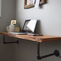 23 DIY Computer Desk Ideas That Make More Spirit Work Wall