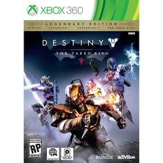 The next great adventure in the first person shooter Destiny universe! Xbox 360 Destiny The Taken King Legendary Edition, BUY it NOW and save $19!