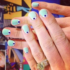 Cute minty eyes by the lovely Cherrie