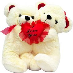 Hugging Teddy with Heart Rs 899/- http://www.tajonline.com/valentines-day-gifts/product/slw706/hugging-teddy-with-heart?aff=pint2015/