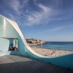 Architects: Durbach Block Jaggers with Peter Colquhoun Location: Sydney (Bondi Beach), NSW, Australia Architecture Presentation Board, Bondi Beach, City Beach, Sydney, Surfing, Australia, Club, Facades, Pallet