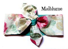 Fasce per capelli - Fascia per capelli Pin Up Style - un prodotto unico di Maiblume-fiore-di-maggio su DaWanda