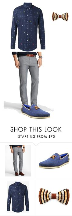 """""""classy"""" by kyle-jacobs on Polyvore featuring Brooks Brothers, Ted Baker, Kenzo, Brackish, men's fashion and menswear"""