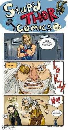 Thor and Loki and the Justice of Asgard Avengers Humor, Loki Meme, Funny Marvel Memes, Dc Memes, Loki Thor, Marvel Jokes, Loki Funny, Marvel Dc Comics, Heros Comics