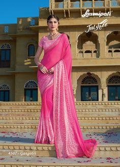 """Browse our latest """"JAISHREE"""" Catalogue Designer & Embellished Sarees for your special occasion. Laxmipati Sarees, Lehenga Saree, Indian Sarees, Sari, Fancy Sarees, Party Wear Sarees, Indian Clothes Online, Saree Styles, Sarees Online"""