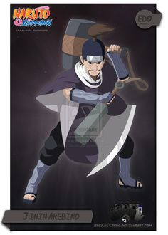 Edo tensei 7 ninja swordsman of the mist member, user of the helmet splitter blade : Jinin