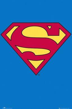 GBEYE Maxi Poster - Superman Logo - MAXI POSTER - BunlardanIstiyorum.com