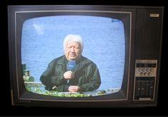 Portable color TV set