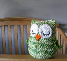"CROCHET PATTERN -  ""Owl Love You Forever"" Cuddle Pillow Pattern. $4.50, via Etsy."