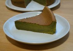 Bizcocho de té verde (Matcha kasutera) para #Mycook http://www.mycook.es/receta/bizcocho-de-te-verde-matcha-kasutera/