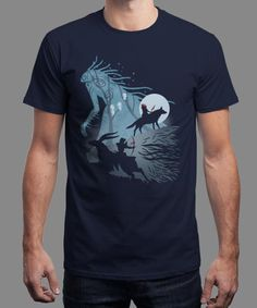 """""""Ancient Spirit"""" is today's £8/€10/$12 tee for 24 hours only on www.Qwertee.com Pin this for a chance to win a FREE TEE this weekend. Follow us on pinterest.com/qwertee for a second! Thanks:)"""