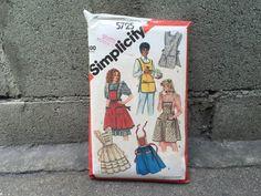 80's Simplicity 5725 Pattern Misses' Set of by ElkHugsVintage