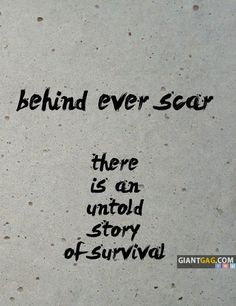 Pictures of the week -55 pics- Behind Every Scar There Is An Untold Story Of Survival