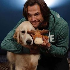 This is either Sam's dog Bones or Jared's new dog, not sure which.