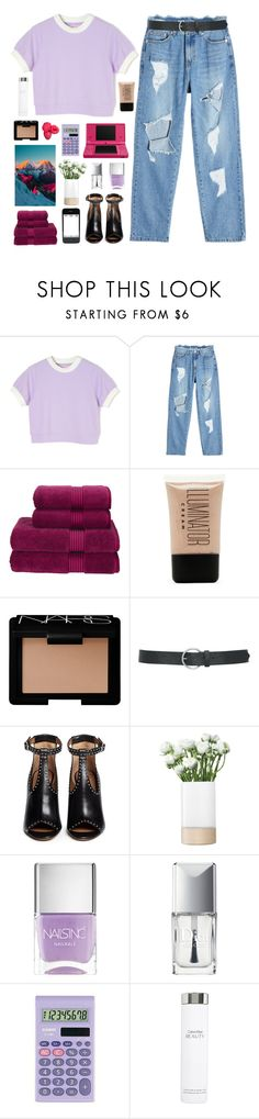 """""""you know i will adore you 'til eternity"""" by i-smell-grunge ❤ liked on Polyvore featuring SJYP, Christy, Forever 21, NARS Cosmetics, M&Co, Givenchy, LSA International, Nails Inc., Christian Dior and Nintendo"""