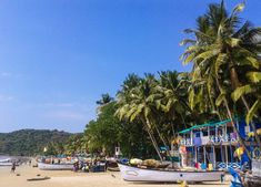 Palolem Beach in South Goa