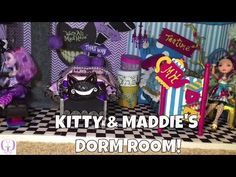 Purple Chevron, Turquoise And Purple, Monster High Beds, Dorm Room Designs, Doll Beds, Ever After High, Scratching Post, Gothic Accessories, Joann Fabrics