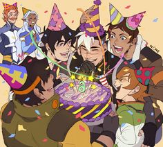 """HAPPY BIRTHDAY SHIRO!  #VoltronShiroBirthday #Voltron #Shiro"""