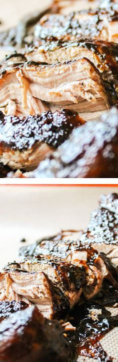 Brown Sugar Balsamic Pork Tenderloin (Crockpot) is one of the easiest, most crowd-pleasing dinners ever!