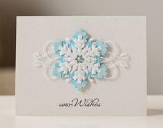 flourish - snowflakes are spellbinders create a flake 1 and 2