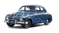 """Škoda 1201 """"Sedan"""" type 980 (1956)"""