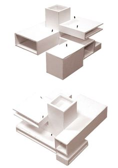 Since 1998 the Web Atlas of Contemporary Architecture Conceptual Model Architecture, Architecture Design, Architecture Concept Drawings, Contemporary Architecture, Cubic Architecture, 3d Modelle, Arch Model, Cube Design, Cubes
