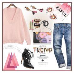 """www.zaful.com/?lkid=8105"" by esma178 ❤ liked on Polyvore featuring Prada, Milani, Giorgio Armani, Martha Stewart, women's clothing, women's fashion, women, female, woman and misses"