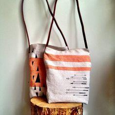 Mountains tote bag.. $40.00, via Etsy.