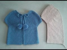 You can make 3 stitch finish vest model as 3 color, not just colored as single color. It is an easy knitting model that can be used as a baby vest both as Baby Knitting Patterns, Baby Sweater Knitting Pattern, Knitting For Kids, Easy Knitting, Knitting Projects, Baby Cardigan, Crochet Baby, Knit Crochet, Diy Bebe