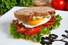 Avocado BLT with Fried Egg And Chipotle Mayo - fantastic ... consider adding some things to make it similar to the Peanut BLT