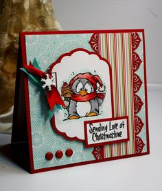 Christmas Card  Handmade Greeting Card  Sending by CardInspired