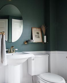 For those who aren't afraid to bring the drama. A mysterious, moody green that's intense and alluring all at once.
