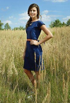 majoranka / Modré šaty