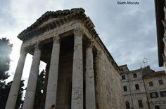 Pula, un petit air romain - Math-Monde
