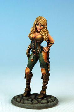 Female Assassin - Visions in Fantasy - Miniature Lines