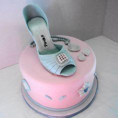 Shoe & Jewelry Birthday Cake