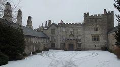 Tudor House of Sizergh Castle in Cumbria, England
