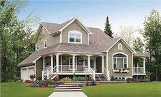 A Classic American Style Farmhouse House Plans Evoke The Feel Of More Traditional America These Home Designs Are Either One Or Two Stories And
